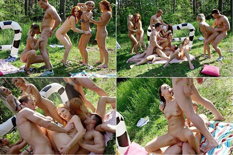 порно на выпускном на природе