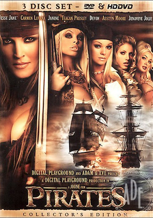Пираты / Pirates [Joone / Digital Playground feat. Adam & Eve] / 2005 / BDRip 720p-AVC