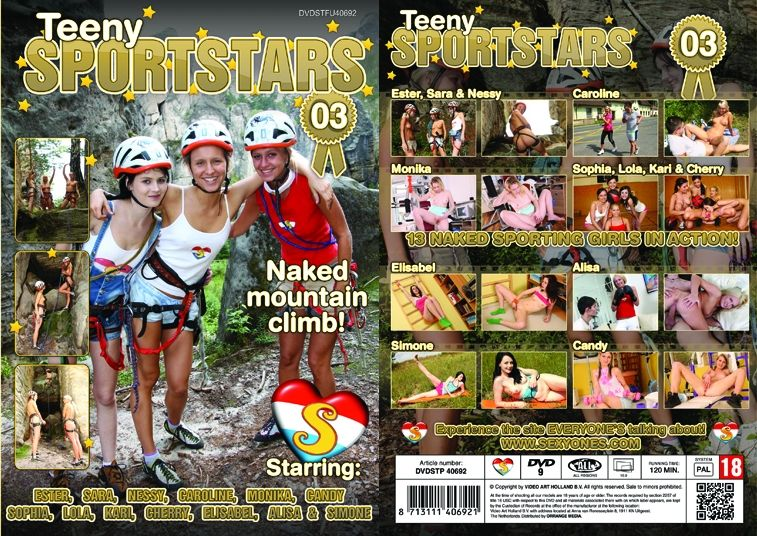 ��������� ���������� ����� 3 / Teeny Sportstars 3 [Seventeen] / 2014 / DVDRip
