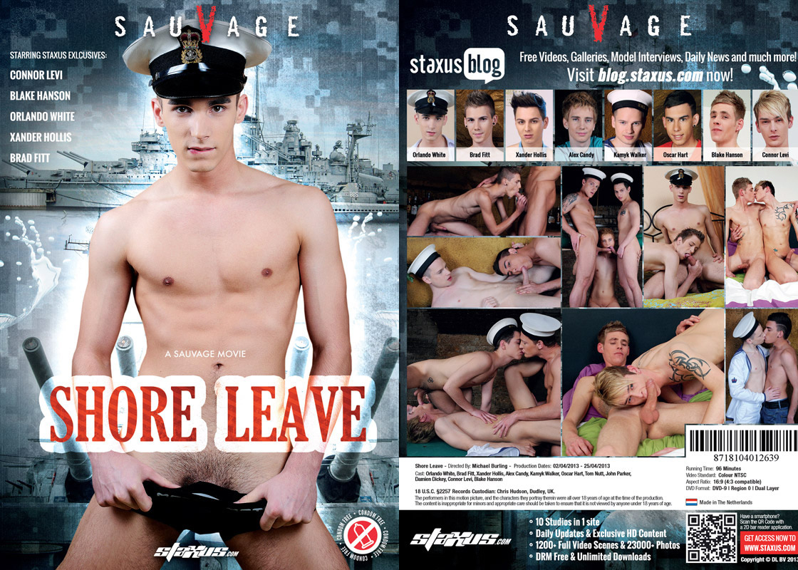 ���������� �� ����� / Shore Leave [Michael Burling/Staxus & SauVage] / 2013 / DVDRip