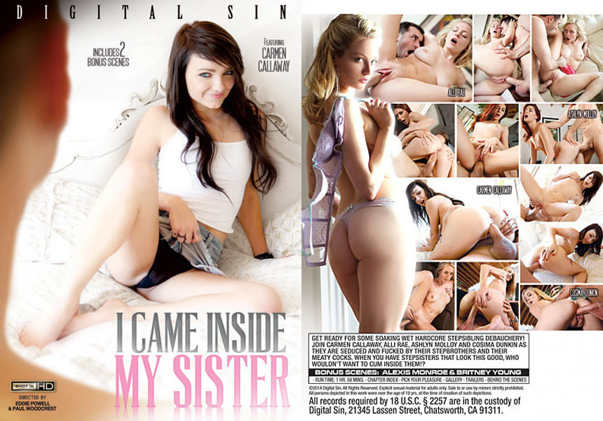 Я кончил в свою сестру / I Came Inside My Sister [Eddie Powell & Paul Woodcrest/Digital Sin] / 2014 / SD