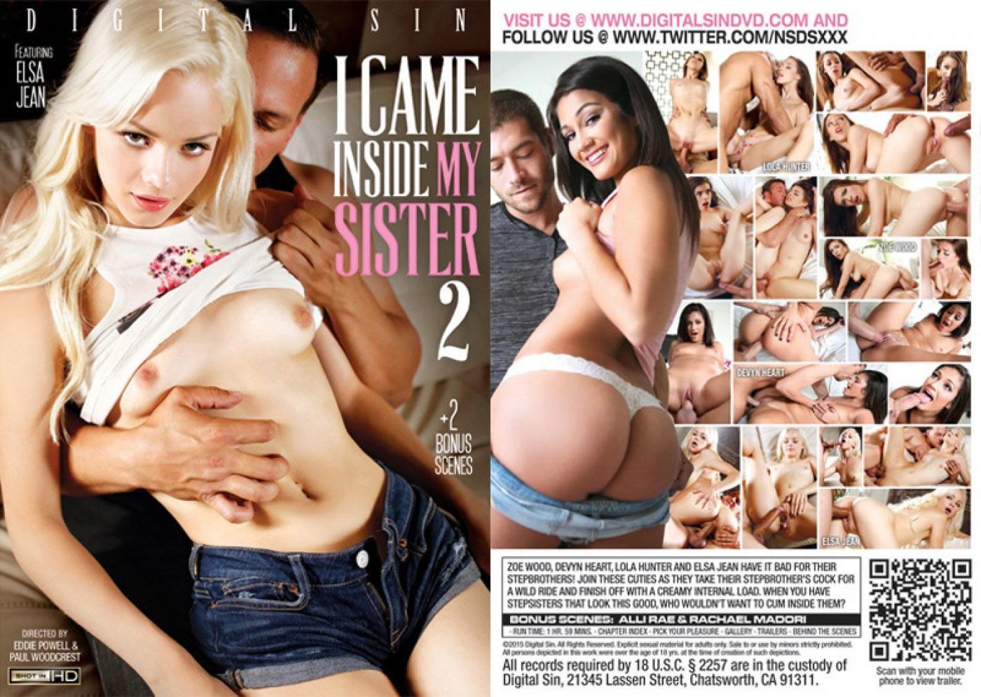 Я кончил в свою сестру - 2 / I Came Inside My Sister - 2 [Eddie Powell & Paul Woodcrest/Digital Sin] / 2015 / SD