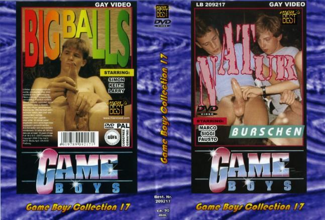 Мальчишечьи игры. Коллекция 17. Разгул на природе & Большие яйца / Game Boys Collection 17. Natur Burschen & Big Balls [Man's Best] / 1999 / DVDRip