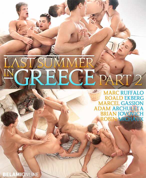 Прошлым летом в Греции. Часть 2 / Last Summer In Greece, Part 2 [BelAmiOnline.com] / 2016 / HD