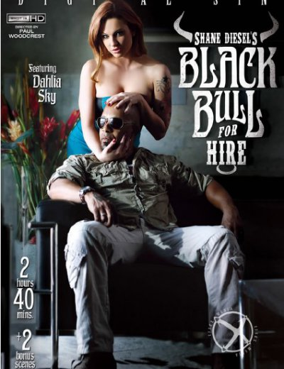 Шейн Дизель- Черный Бык Напрокат / Shane Diesel -Black Bull For Hire [New Sensations/Digital Sin] / 2015 / DVDRip