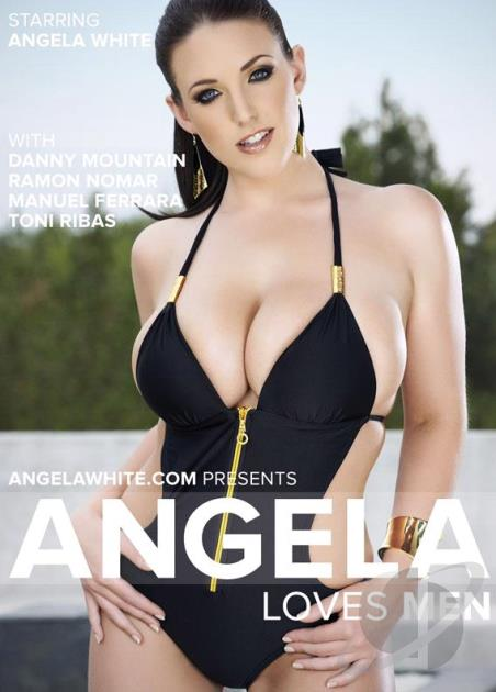Анжела Любит Мужчин / Angela Loves Men [Angela White/Angela White Productions] / 2015 / DVDRip