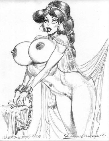 Рисованные девушки / 592 / jpg